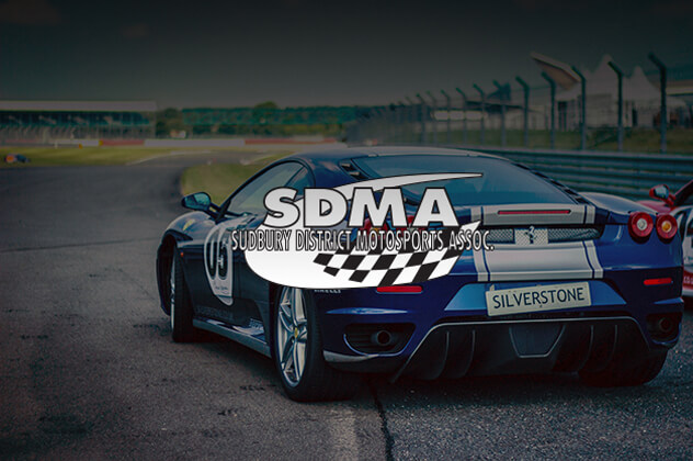 Sudbury District Motorsports Association website above image of racecar